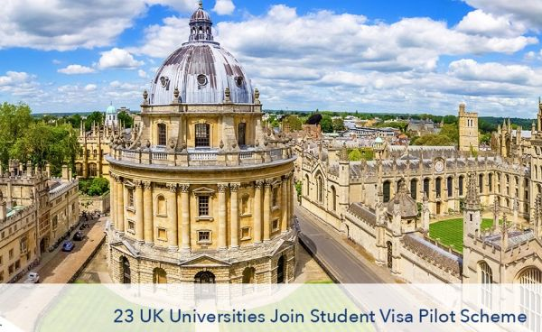 Do you know that UK Govt Extended Pilot Student Visa Scheme to 23 Universities