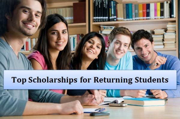 Top Scholarships for Returning Students