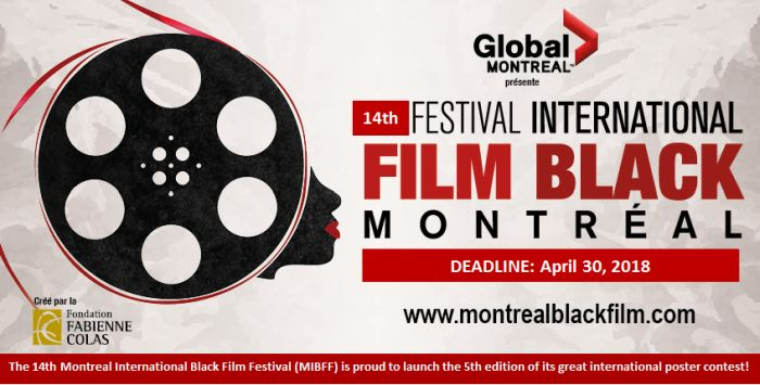 5th Edition of the Montreal International Black Film Festival Poster Contest