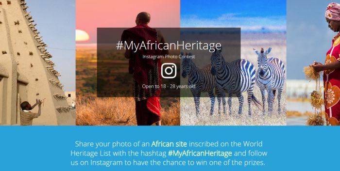 UNESCO African World Heritage Day Instagram Photo Contest