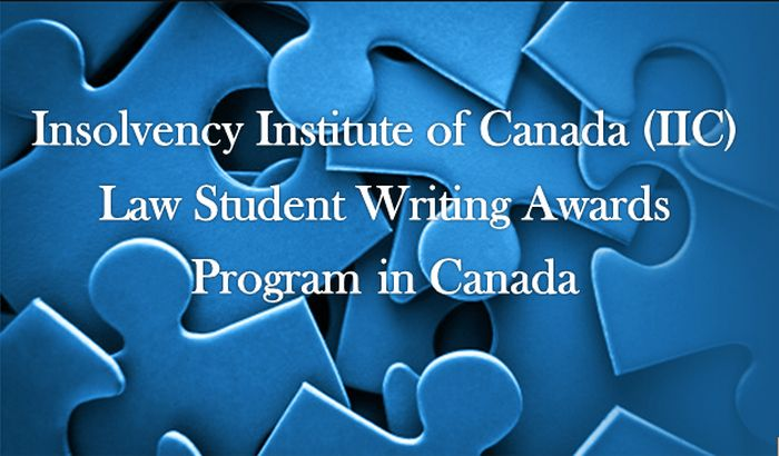 IIC Law Student Writing Awards Program in Canada
