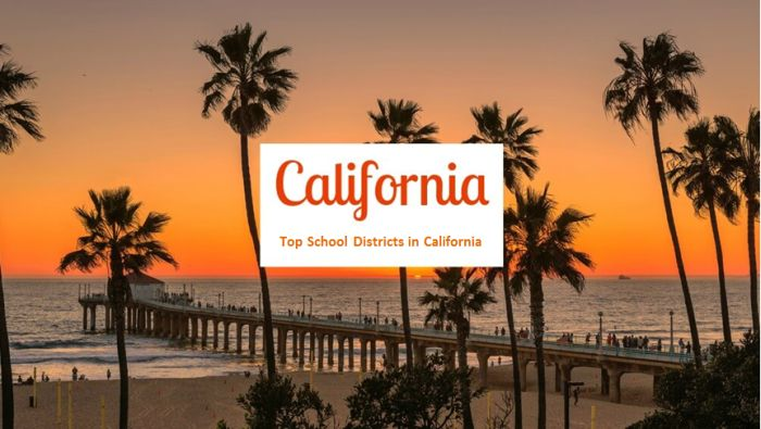 Top School Districts in California