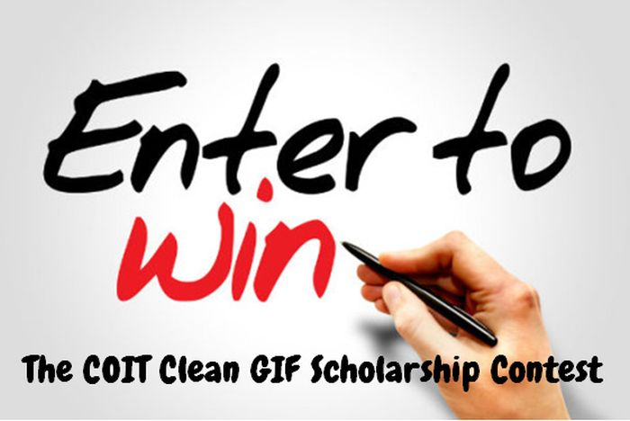 The COIT Clean GIF Scholarship Contest