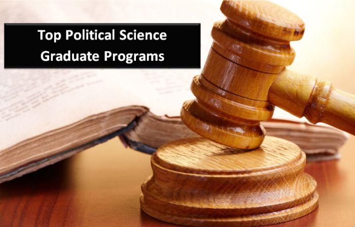 Top Political Science Graduate Programs