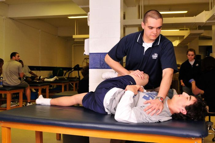 Best Colleges for Athletic Training