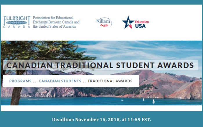 Canadian Traditional Student Awards
