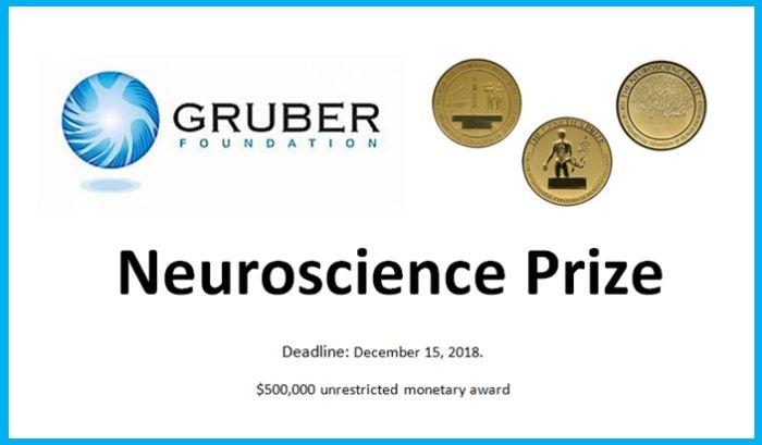 Gruber Foundation Neuroscience Prize