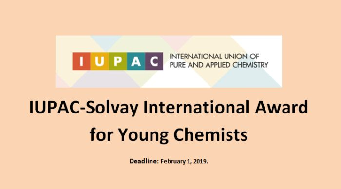 IUPAC-Solvay International Award for Young Chemists