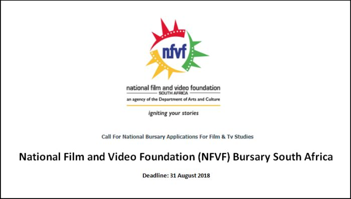 National Film and Video Foundation Bursary South Africa