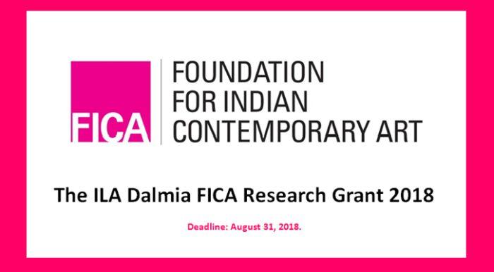 The ILA Dalmia FICA Research Grant 2018