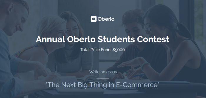 AnnualOberlo Students Contest