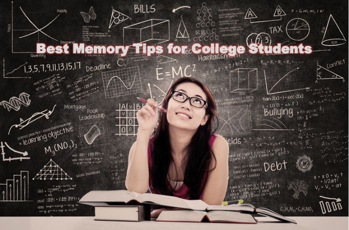 Best Memory Tips for College Students