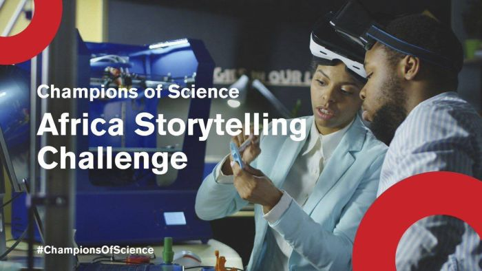 Champions of Science Africa Storytelling Challenge