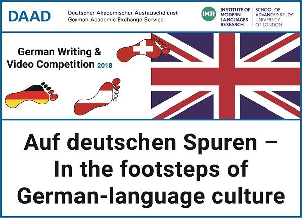DAAD German Writing and Video Competition 2018