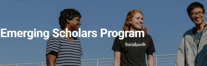 Facebook Emerging Scholar Award