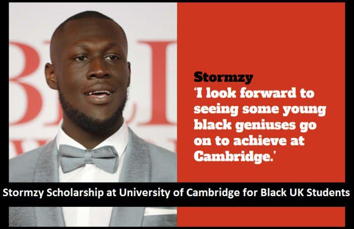 Stormzy Scholarship for Black UK Students