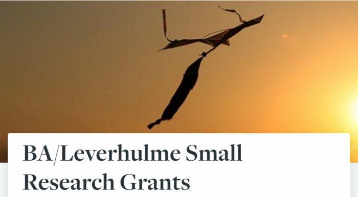 BA/Leverhulme Small Research Grants
