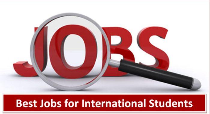 Best Jobs for International Students