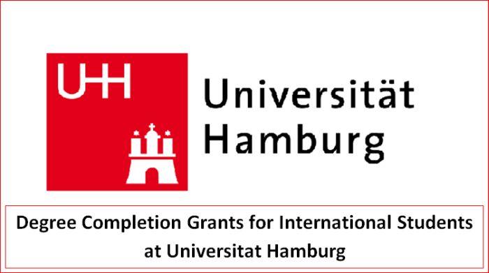 Degree Completion Grants for International Students at Universitat Hamburg