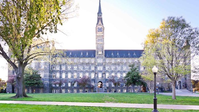 Georgetown University Acceptance Rate