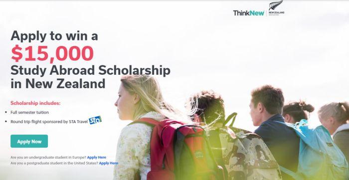 Go Overseas Study Abroad Scholarship in New Zealand