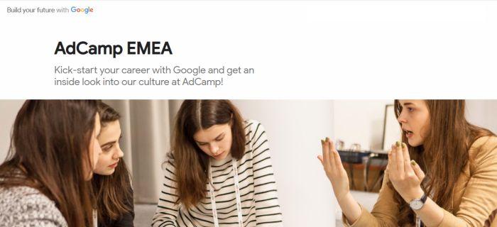 Google AdCamp EMEA Program