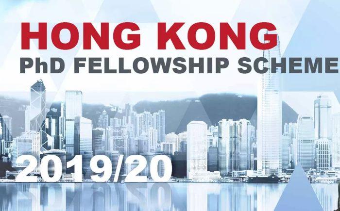 Hong Kong PhD Fellowship Scheme 2019-20