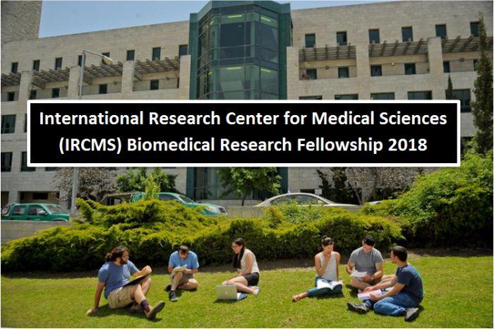 IRCMS Biomedical Research Fellowship 2018