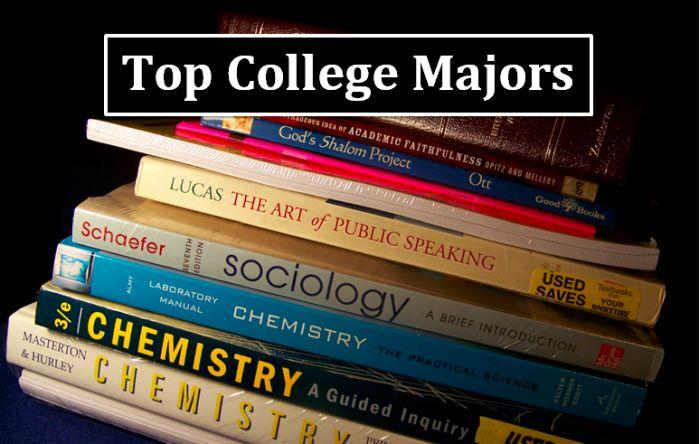 Top College Majors 2018-19
