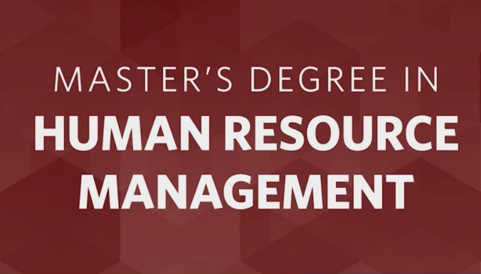 Top Schools for Masters in Human Resources