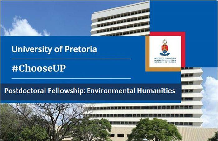 University of Pretoria Postdoctoral Fellowship in Environmental Humanities