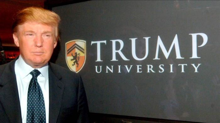 What is Trump University?
