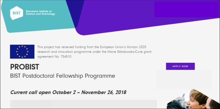 BIST Postdoctoral Fellowship Program