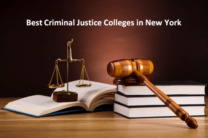 Best Criminal Justice Colleges in New York