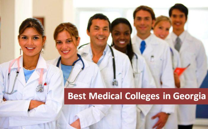 Best Medical Colleges in Georgia 2018-19