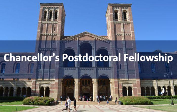 Chancellor's Postdoctoral Fellowship
