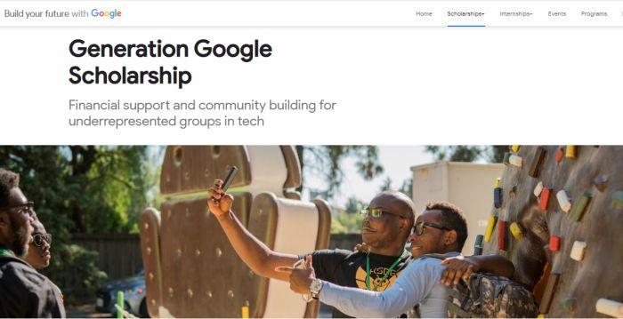 Generation Google Scholarship 2018