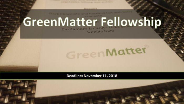 GreenMatterFellowship