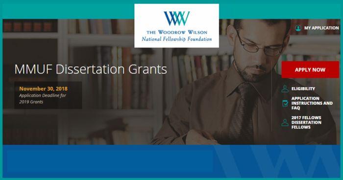 MMUF Dissertation Grants