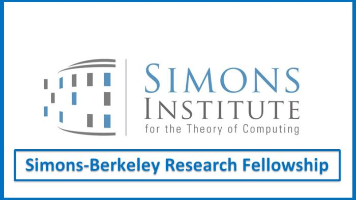Simons-Berkeley Research Fellowship