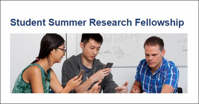 Student Summer Research Fellowship