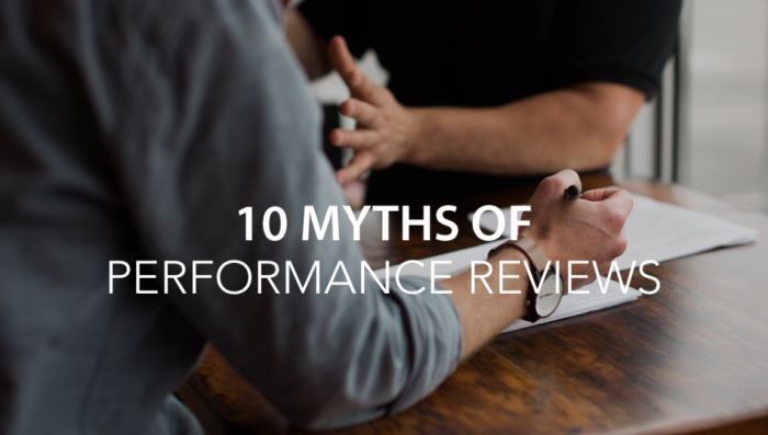 The Common Myths about Performance Reviews, Debunked