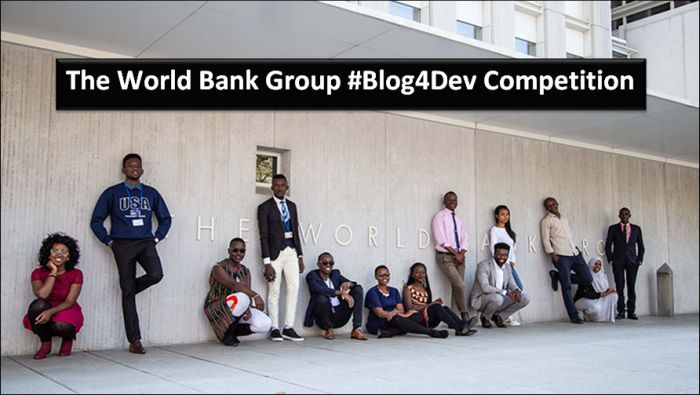 The World Bank Group #Blog4Dev Competition
