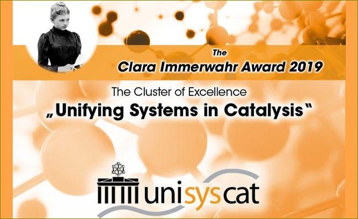 UniSysCat Clara Immerwahr Award