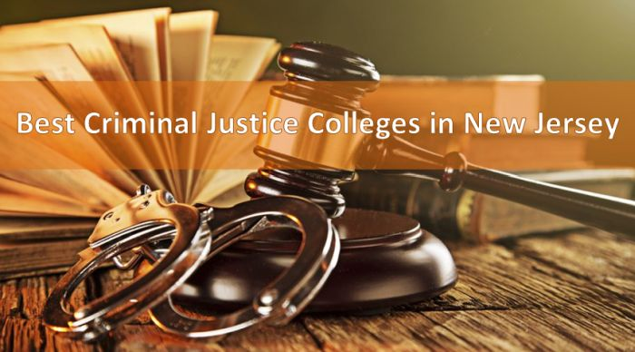 Best Criminal Justice Colleges in New Jersey