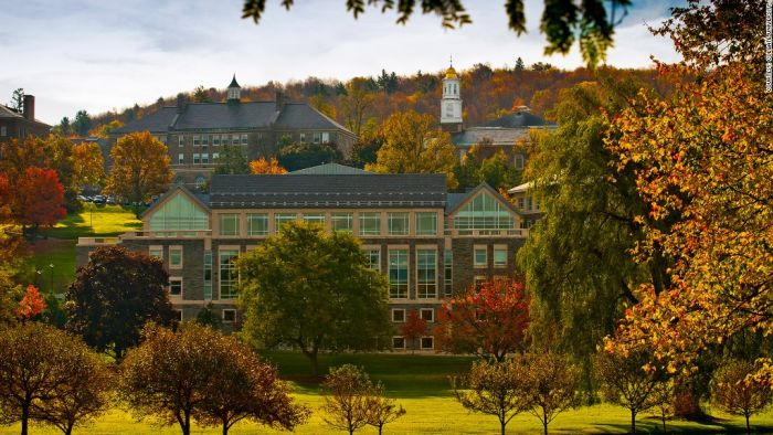 Colgate University Acceptance Rate 2018-19