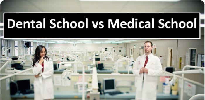 Dental School vs Medical School