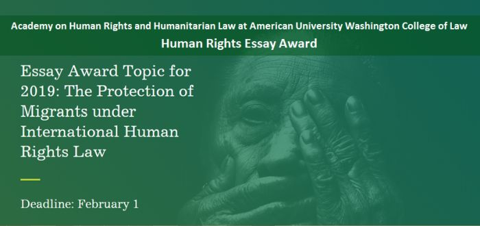 Human Rights Essay Award