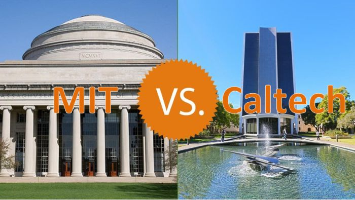 MIT vs Caltech