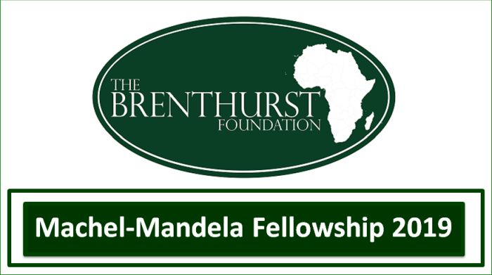 Machel-Mandela Fellowship 2019